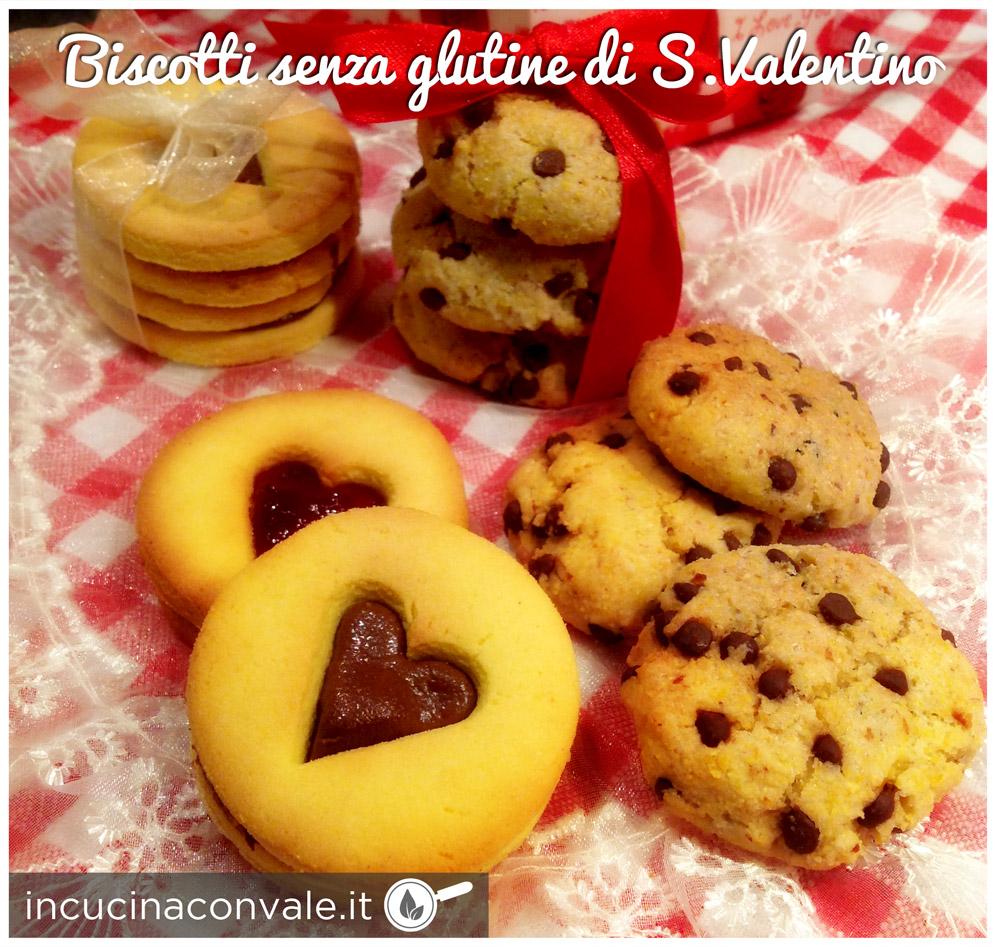 Biscotti senza glutine di S.Valentino