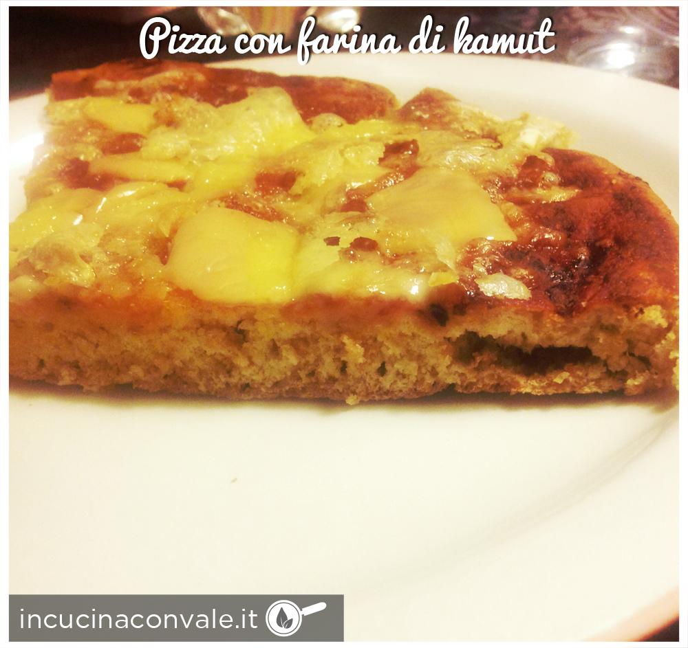 Pizza con farina di kamut in cucina con vale - Cucina con vale ...