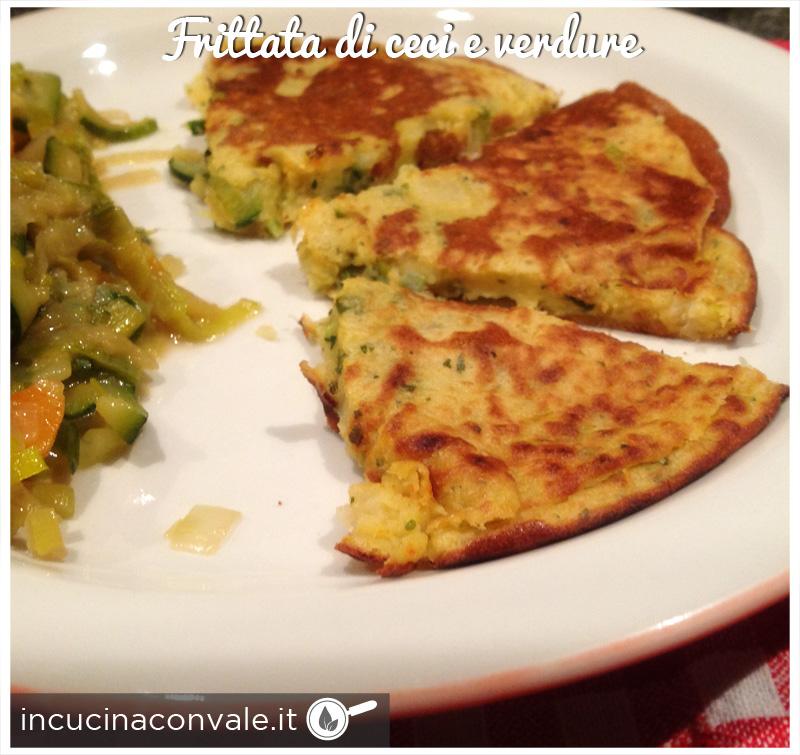 Frittata di ceci e verdure in cucina con vale - Cucina con vale ...