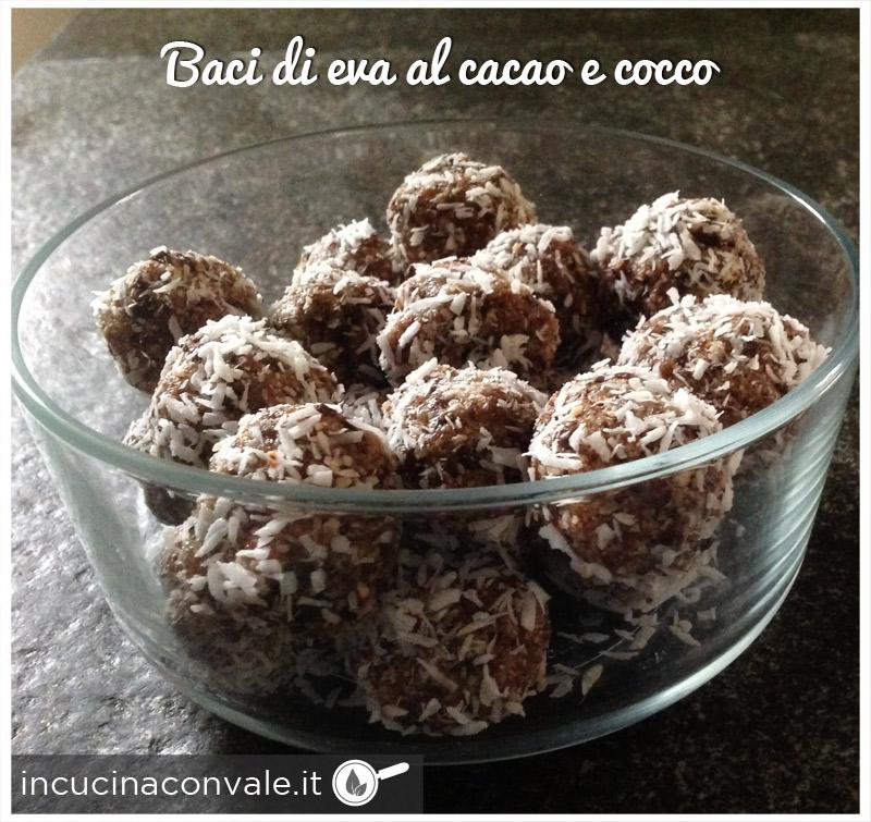 Baci di Eva al cacao e cocco