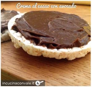 Crema al cacao con avocado in cucina con vale - Cucina con vale ...