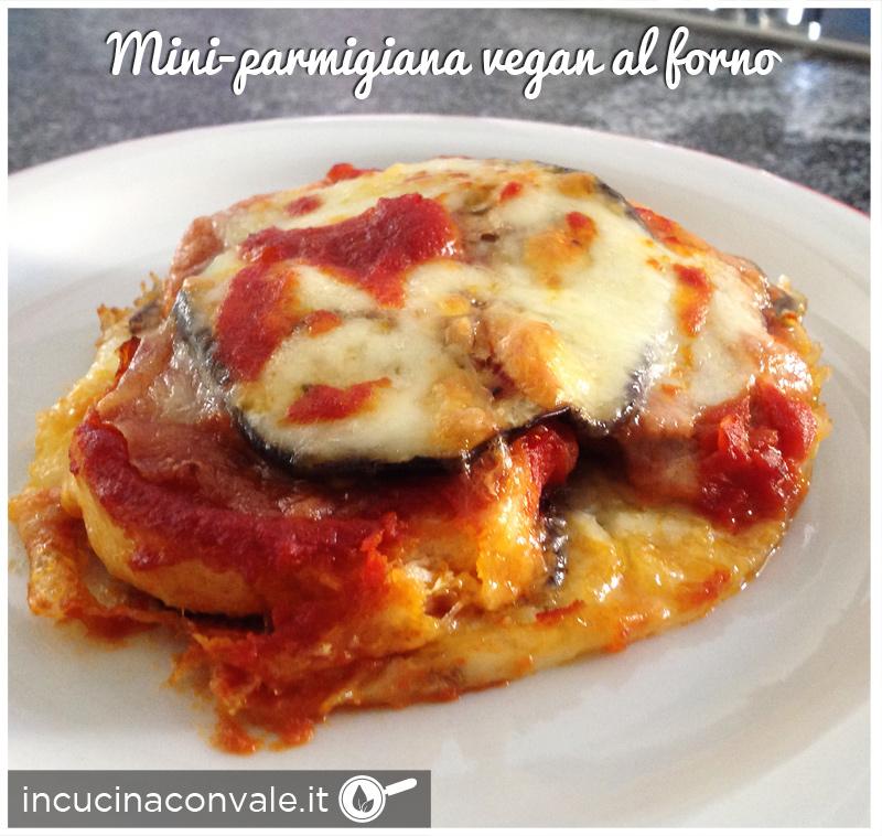 Mini-parmigiana vegan al forno