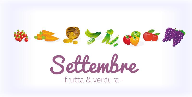 Frutta e verdura di settembre