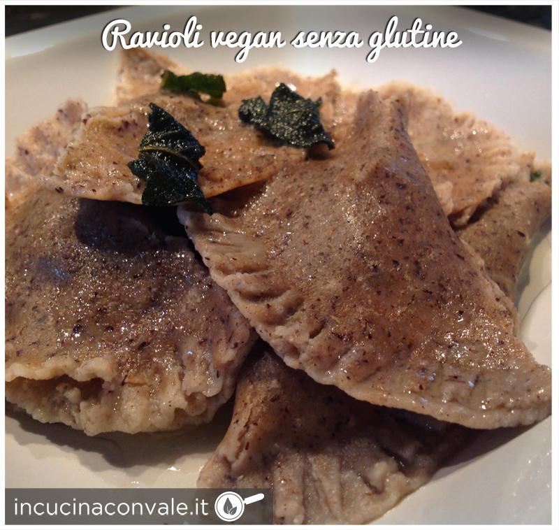 Ravioli vegan senza glutine in cucina con vale - Cucina con vale ...