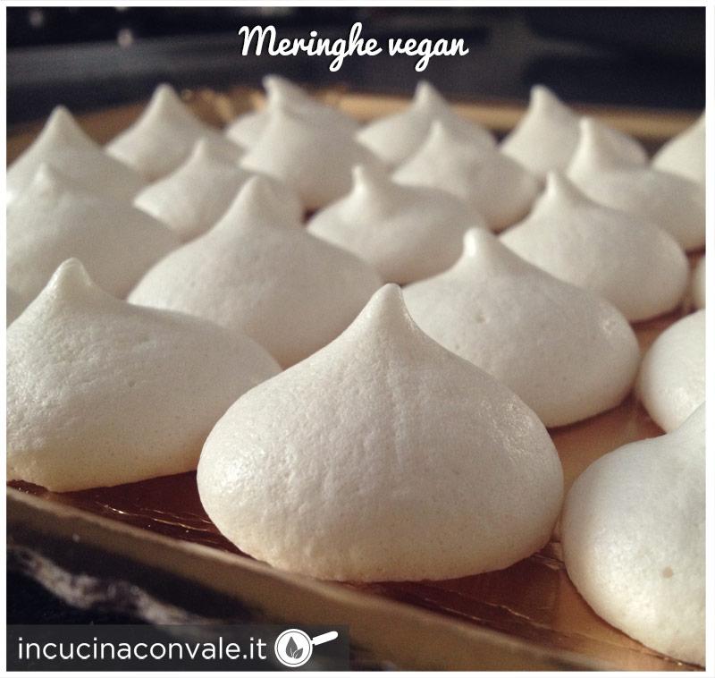 Meringhe vegan (senza uova)